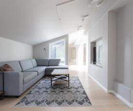 2ndhomes Luxury Helsinki City 2BR Penthouse w/Sauna