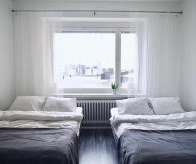 "2ndhomes Tampere ""Pellavatehtaankatu"" Apartment - Premium Downtown Apt with Own Sauna & a Tapas Restaurant Downstairs"