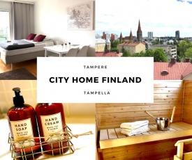 City Home Finland Tampella, City View, Sauna
