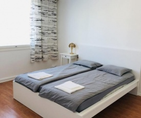 54 square meters in the center of Turku, near the mall, shopping center, church, square Aura